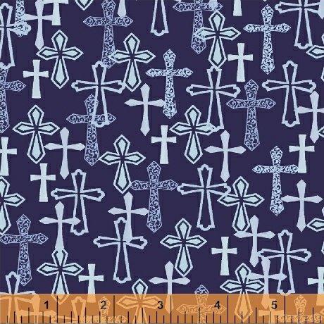 Faith - Blue Crosses