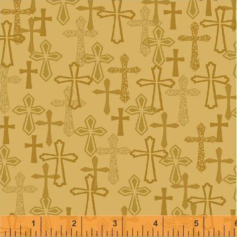 Faith - Gold Crosses