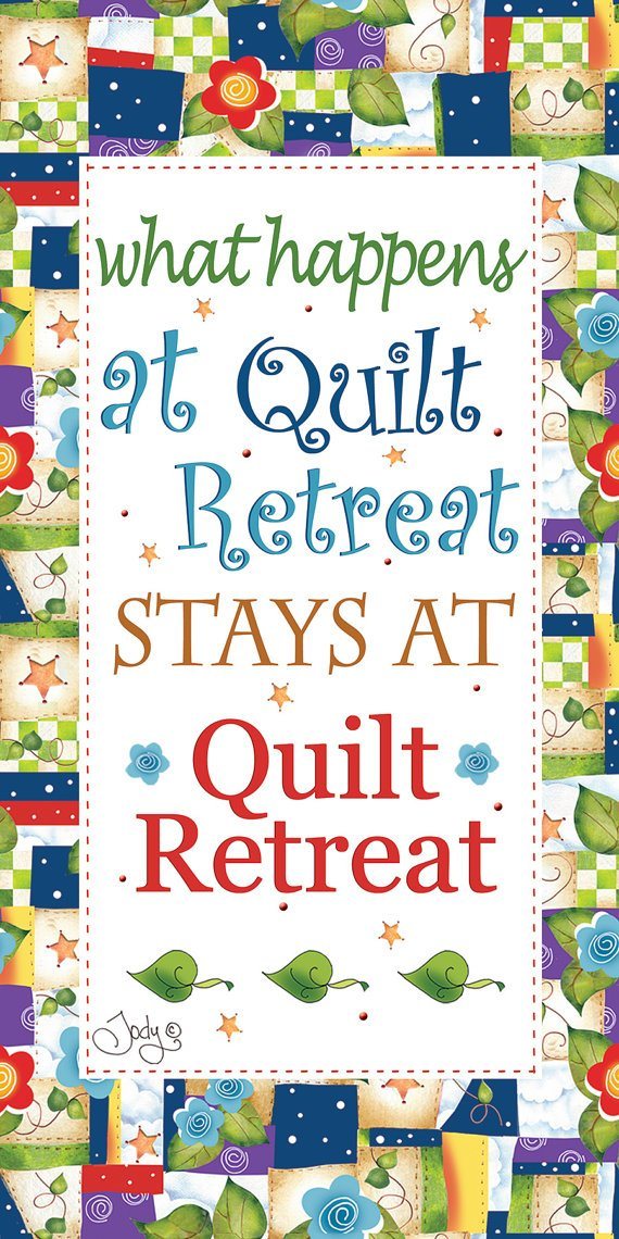 6 x 12 Quilt Retreat Art Panel