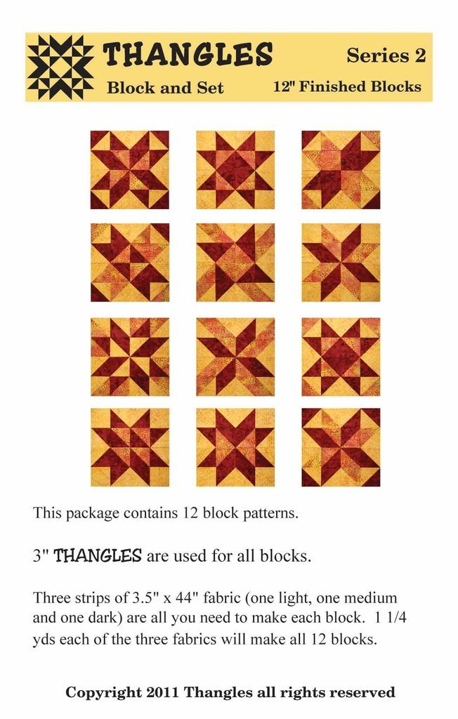 Thangles Block & Set - Series Two