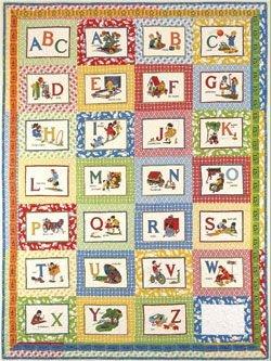 American Jane Pattern-ABC's