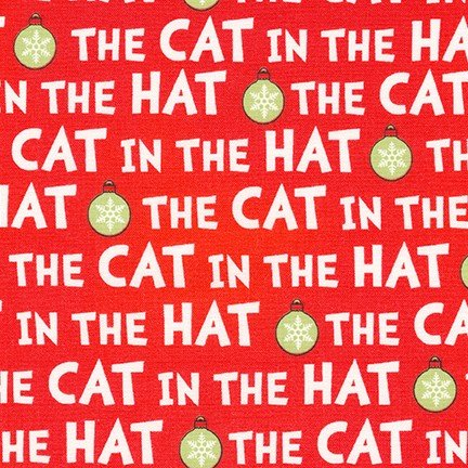 The Cat in the Hat Christmas Red Title