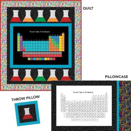 Science Beakers Quilt Kit