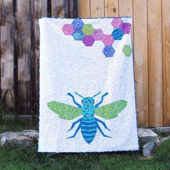 Queen Bee Quilt Kit
