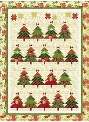 Christmas Tree Farm Quilt Kit