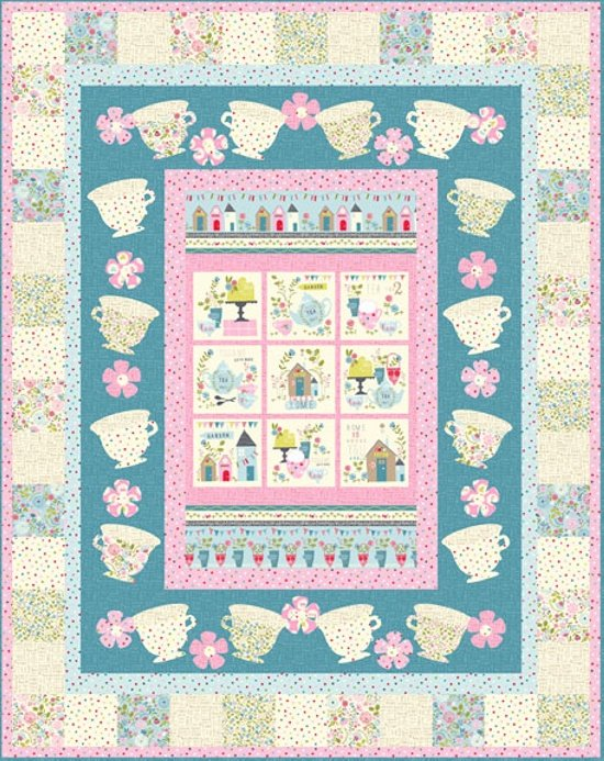 Tea Time Quilt Kit