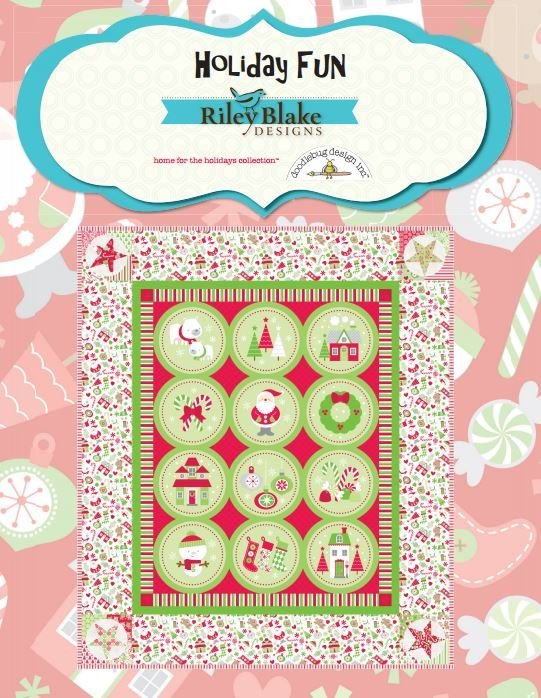 Holiday Fun Kit with Flannel Backing