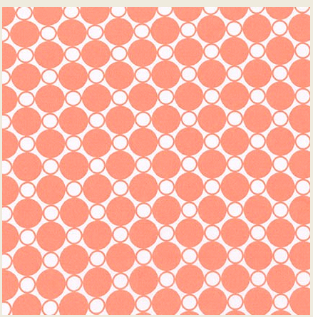 Spot On Wide Creamsicle-3yards