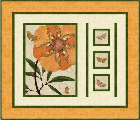 Flower Power Quilt Kit