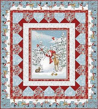 Sheltering Snowman Quilt Kit