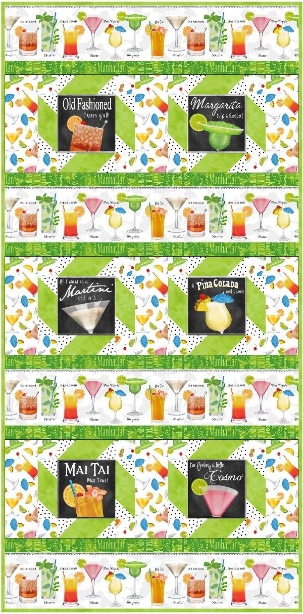 Happy Hour Table Runner and Placemat Set
