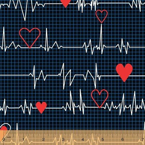 Calling All Nurses Heart Beat Blue