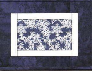 Framed Seasons QAYG Pattern