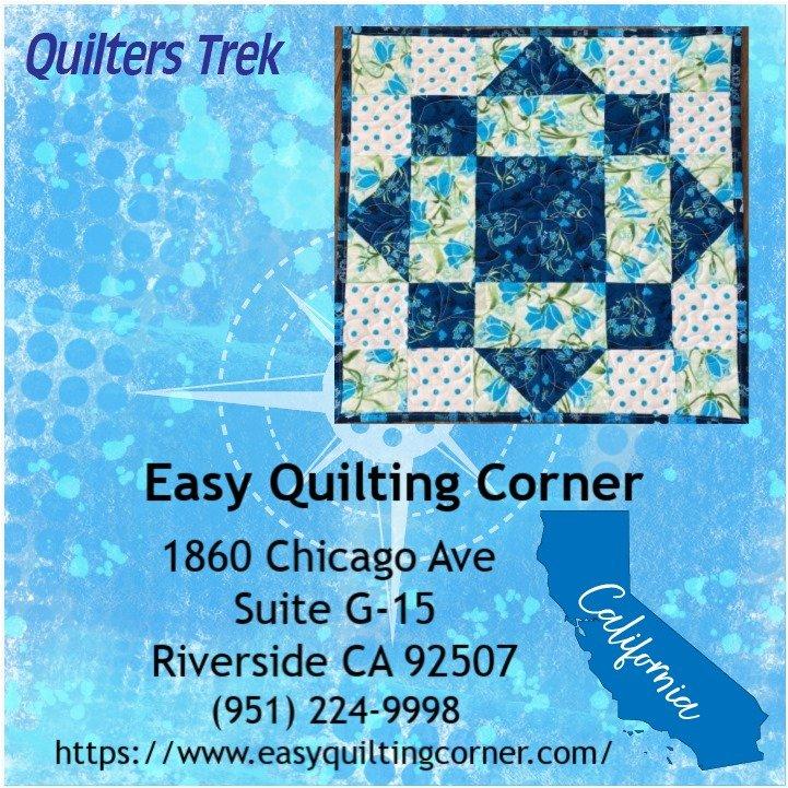 Quilters Trek 2020 - True Blue