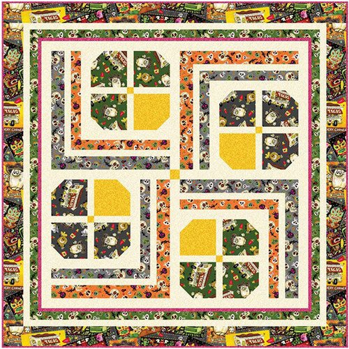 Hot Tamale Table Topper Quilt Ki Plus 4 Placemats