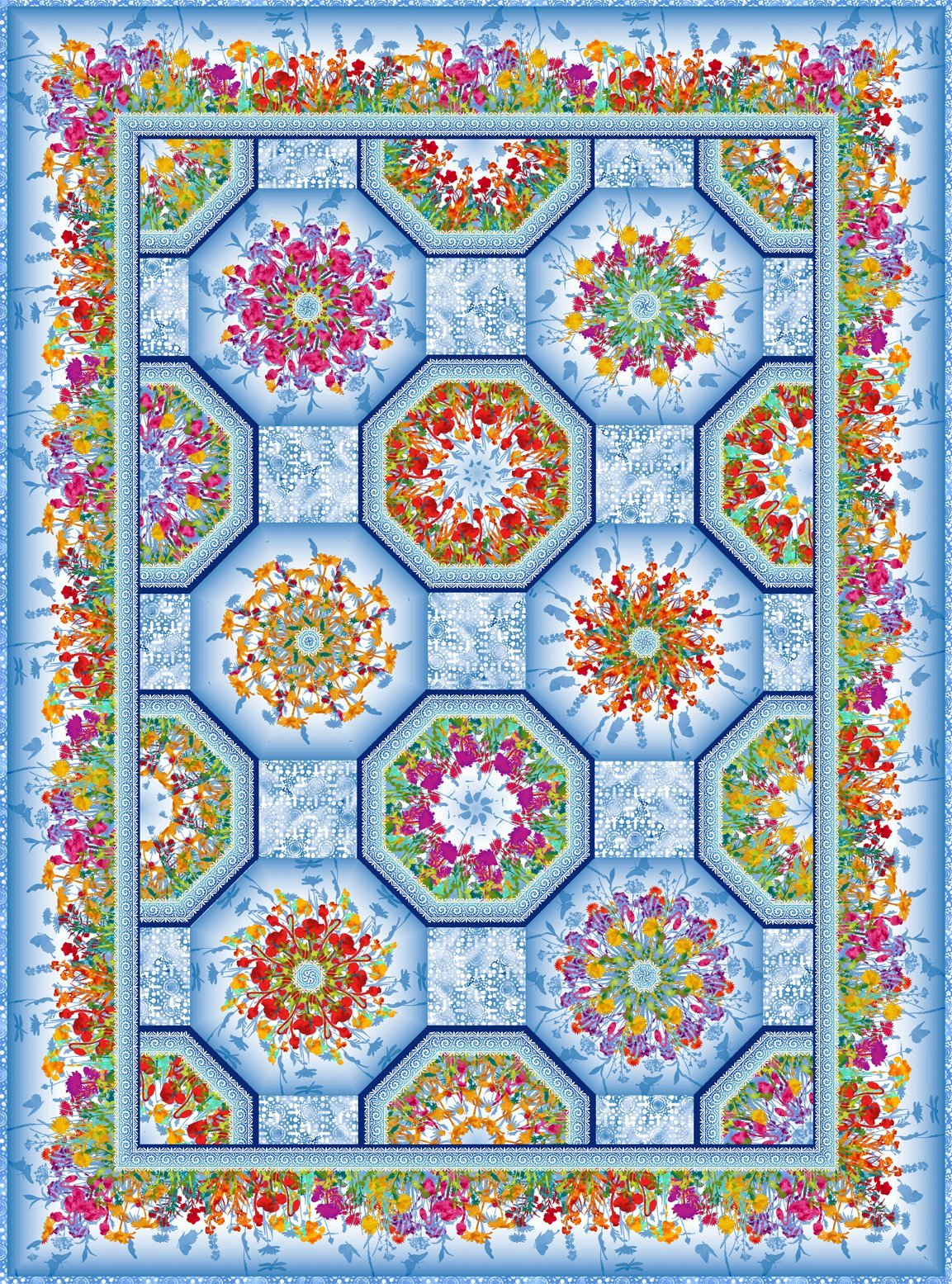Dreamscape One Fabric Kaleidoscope