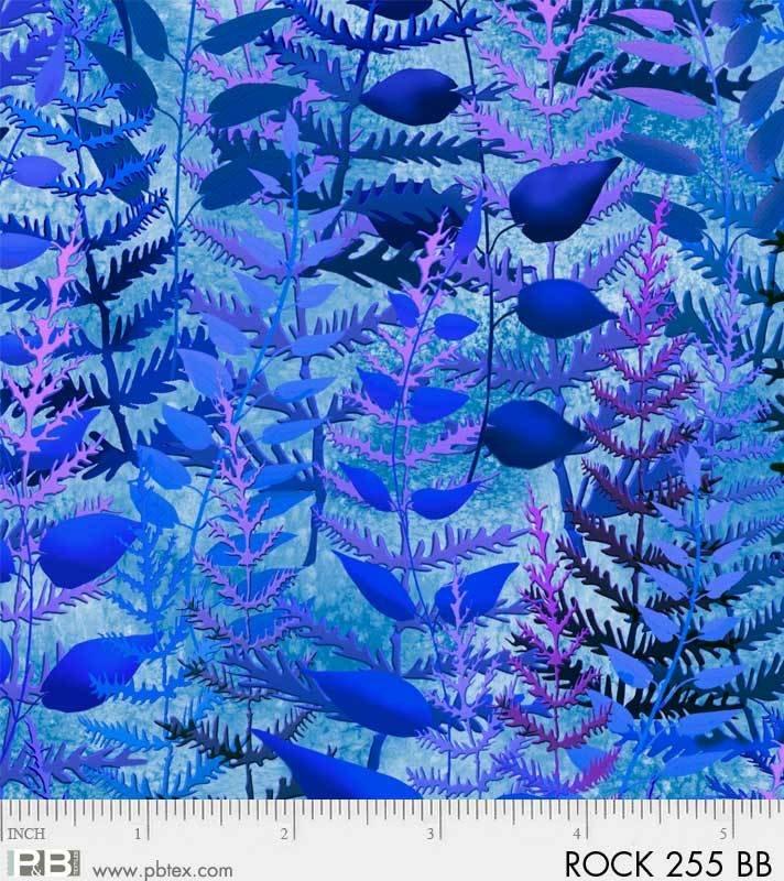 Rock Garden Ferns Blue