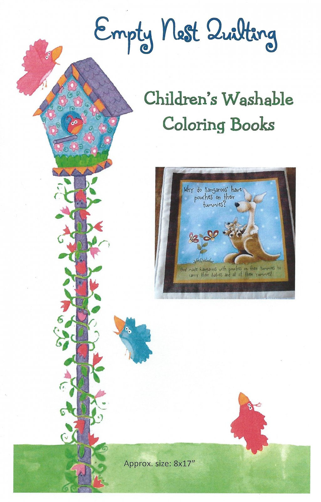 Children's Washable Coloring Book Pattern