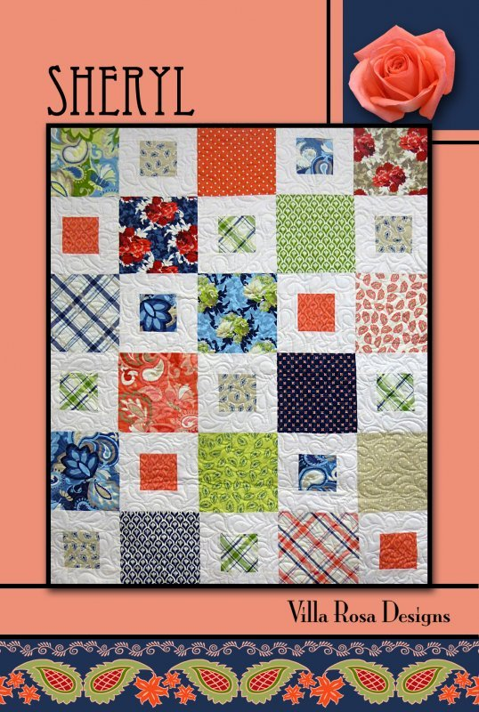 Sheryl Quilt Kit (pick your FQ Bundle)