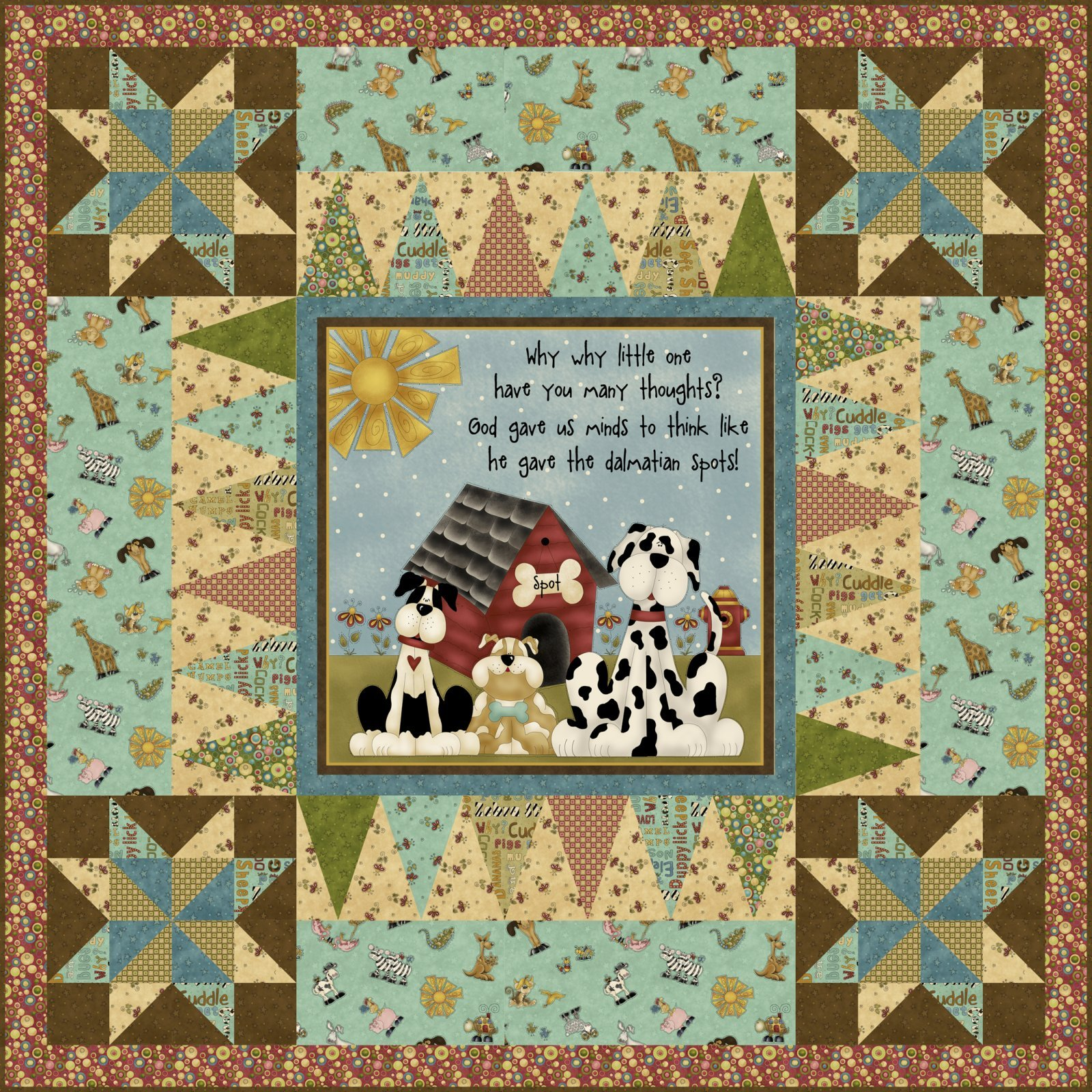 Why Panel Quilt Kit