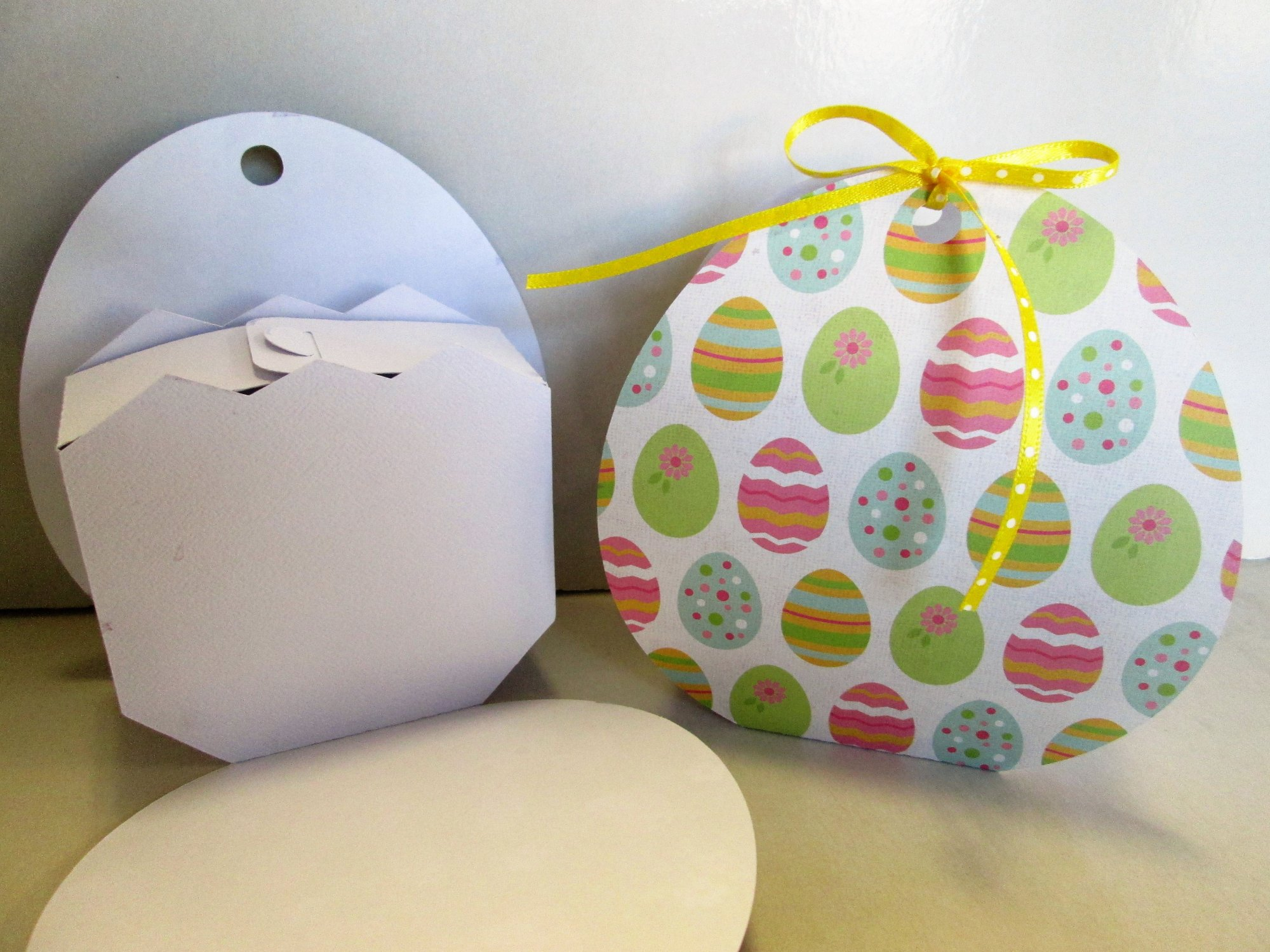 Scan n cut easter egg gift bag negle Gallery