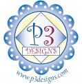 P3 Designs logo
