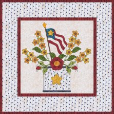 The Hoiday Flag wall hanging