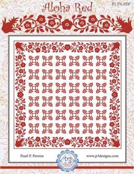 Aloha Red E Pattern