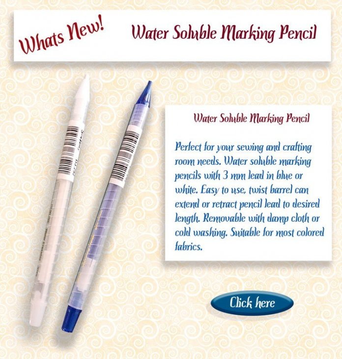 marking pencils