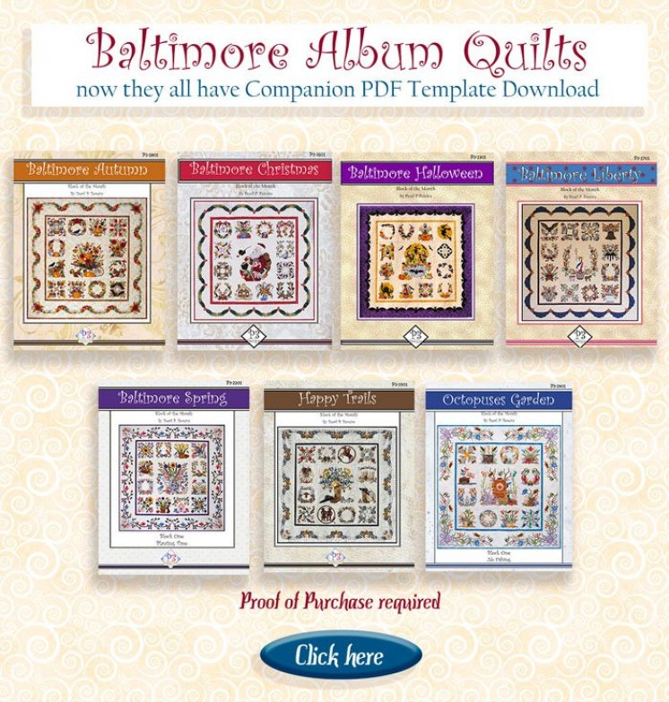 Baltimore Album Quilts