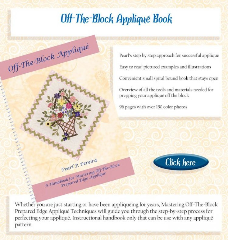 off the blocks applique