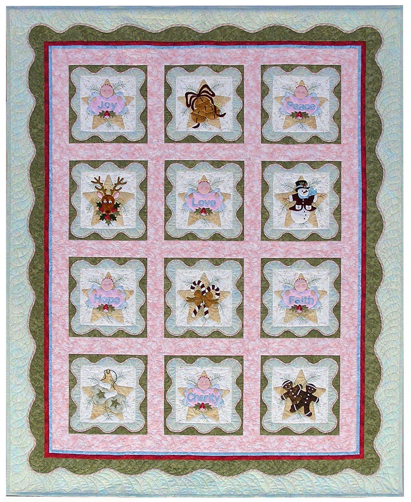 P3-1400 Anita's Christmas Quilt