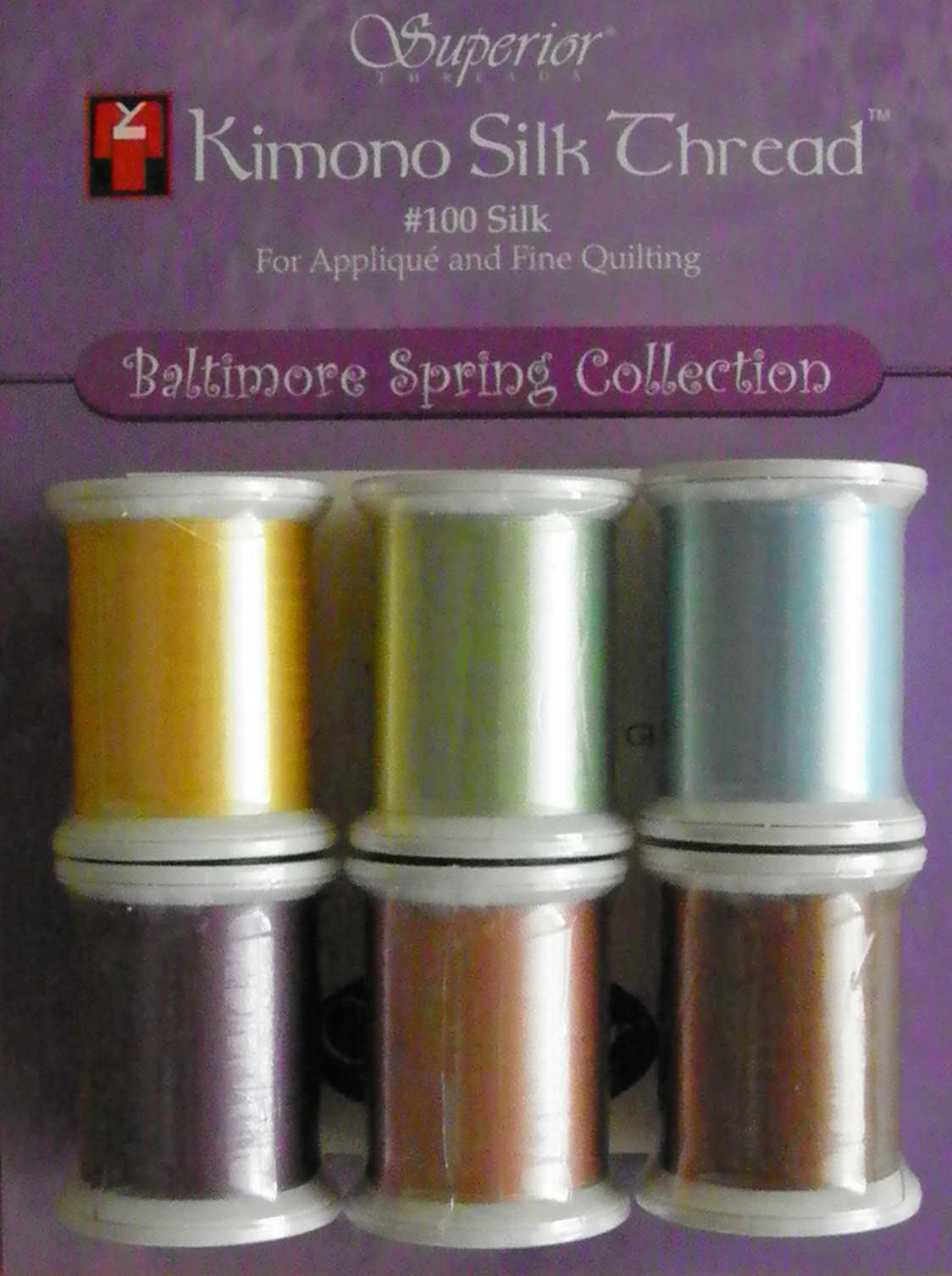 P3-2219 Baltimore Spring Kimono Silk Thread Collection