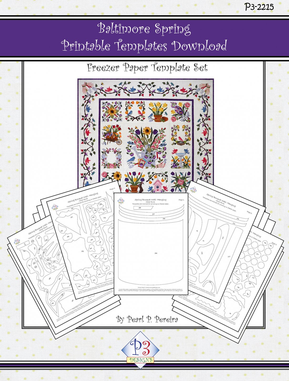 P3-2215 Baltimore Spring Template Only Download