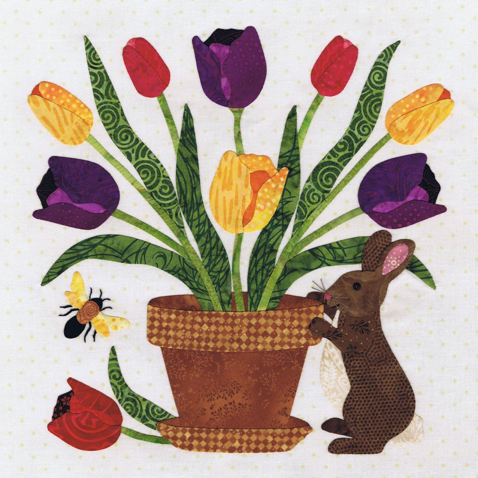 P3-2210 Rabbits Bouquet