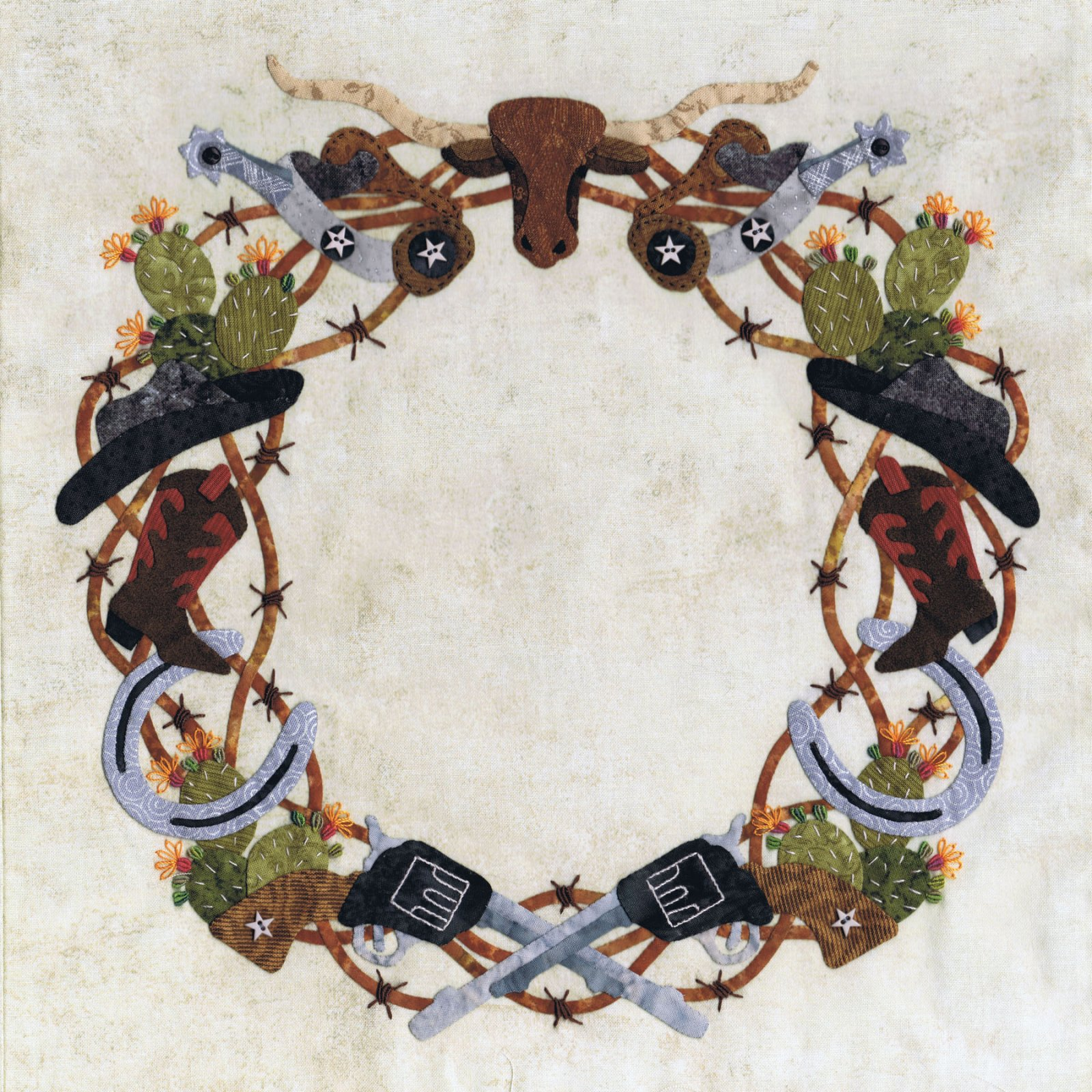 P3-1911 Barbed Wire Wreath