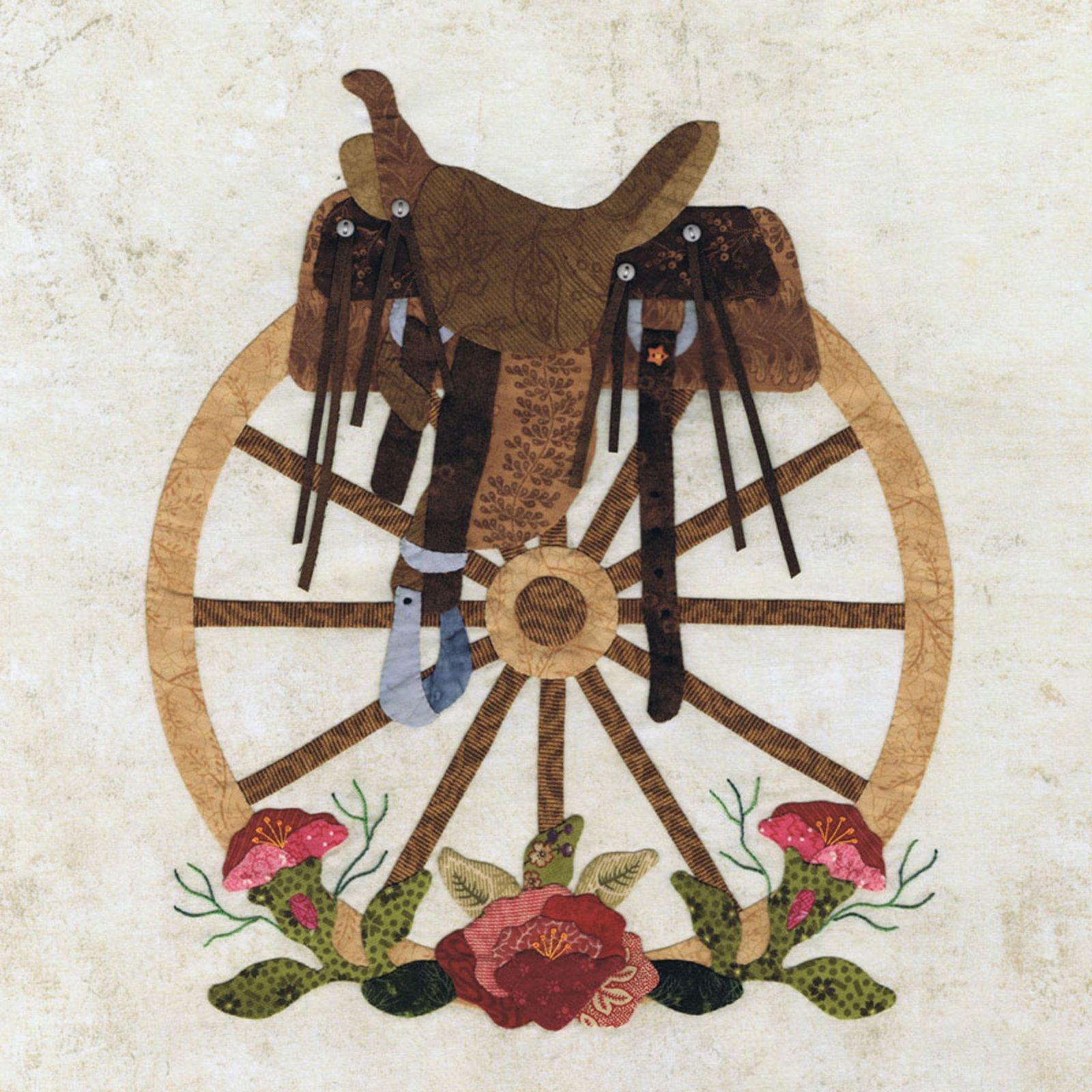 P3-1901 Wagon Wheel Wreath