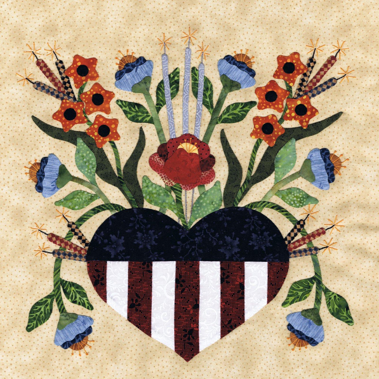 P3-1703 Heart Bouquet