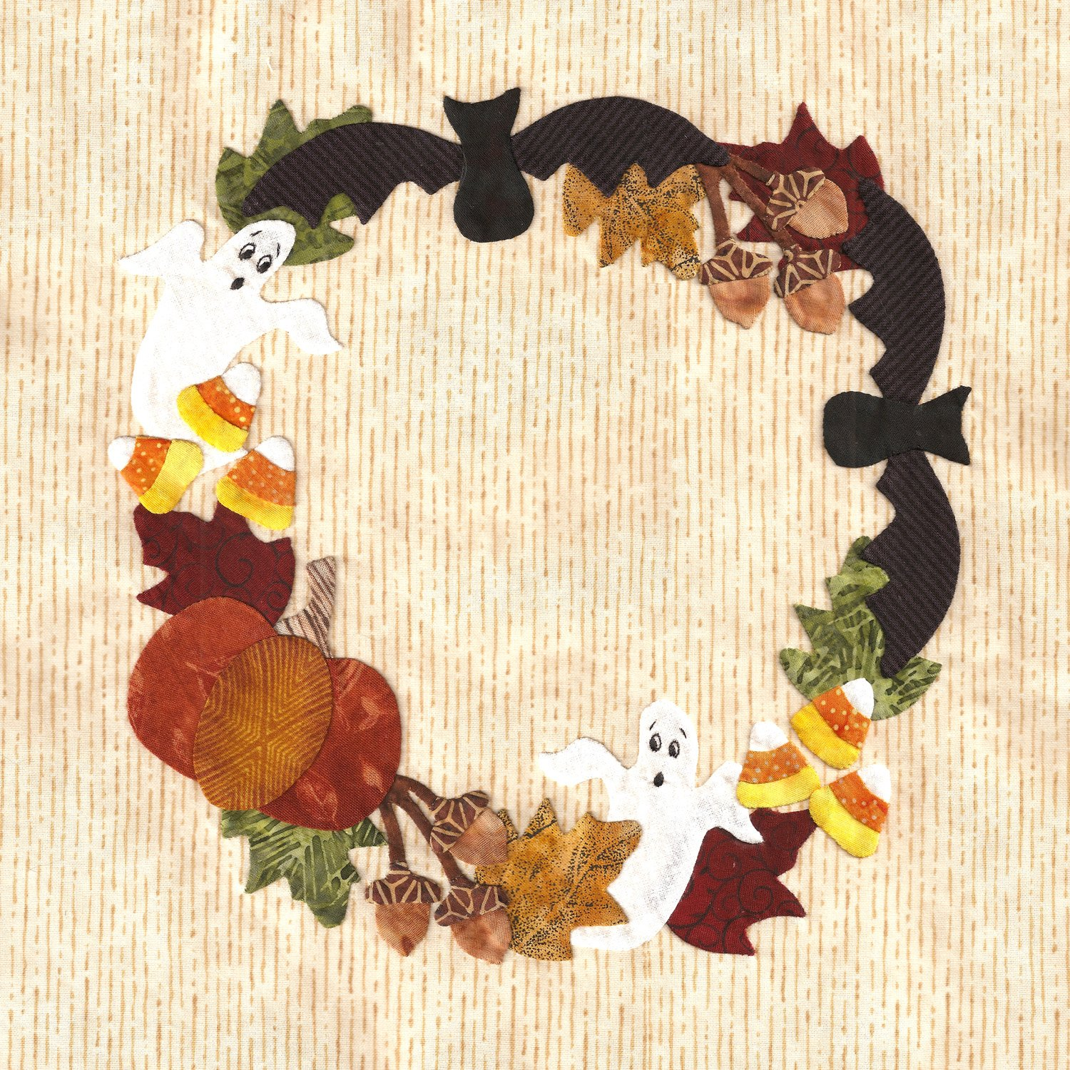P3-1305 Ghosts & Bats Wreath