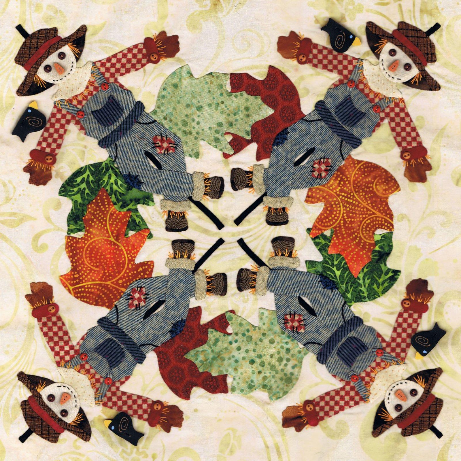 P3-1805 Scarecrow Wreath