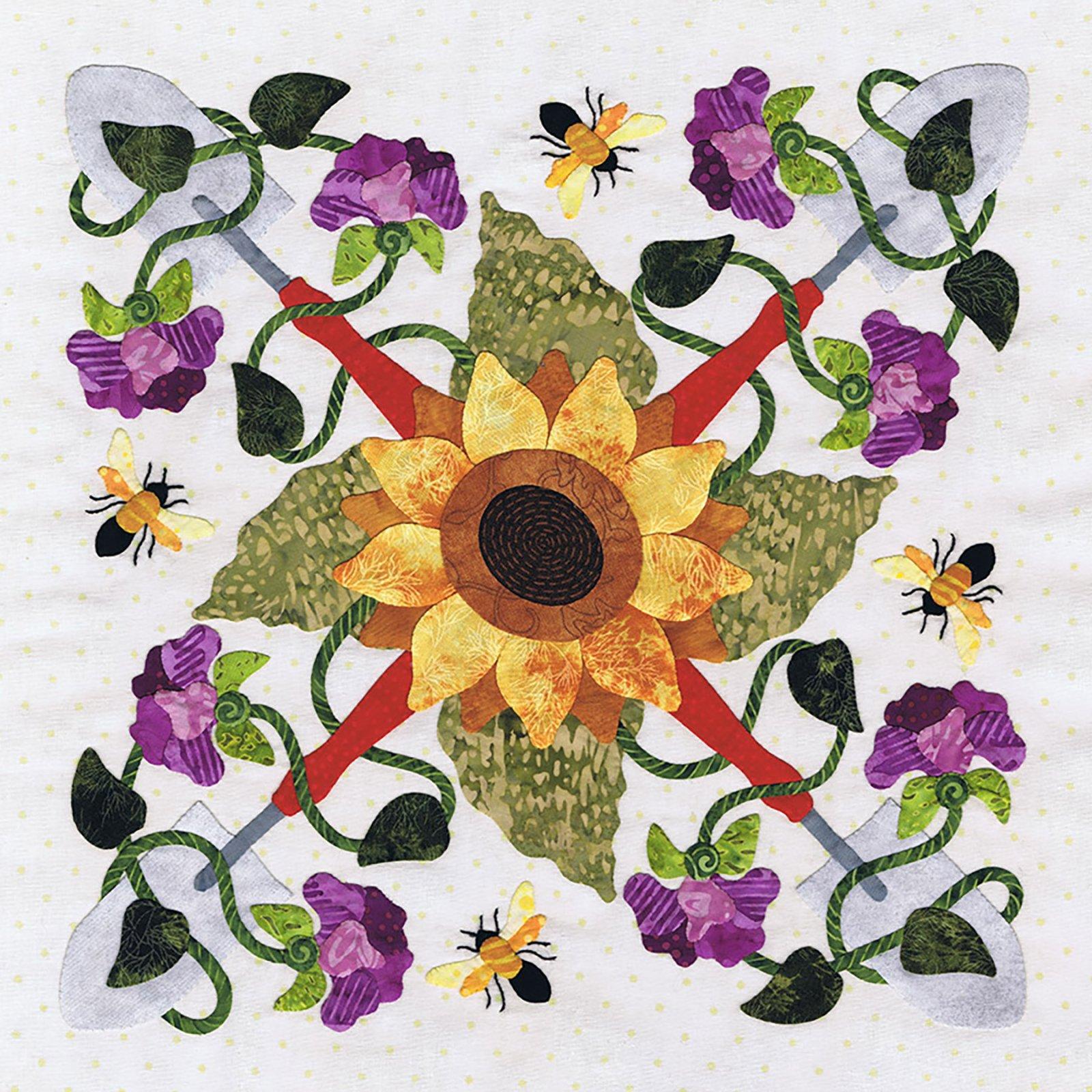 P3-2205 Sunflower Wreath