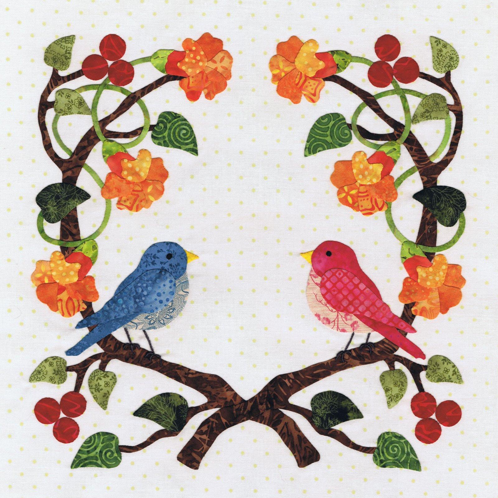 P3-2206 Love Bird Wreath