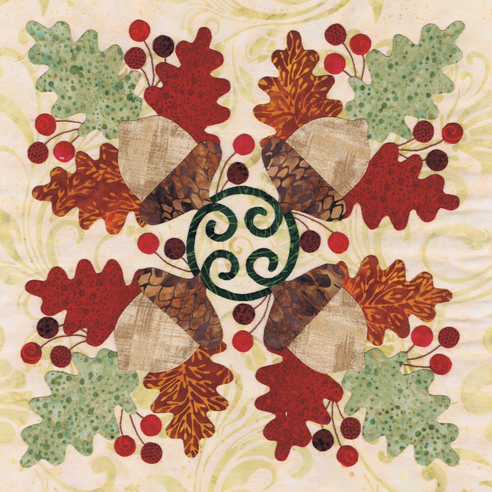 P3-1808 Acorn Wreath