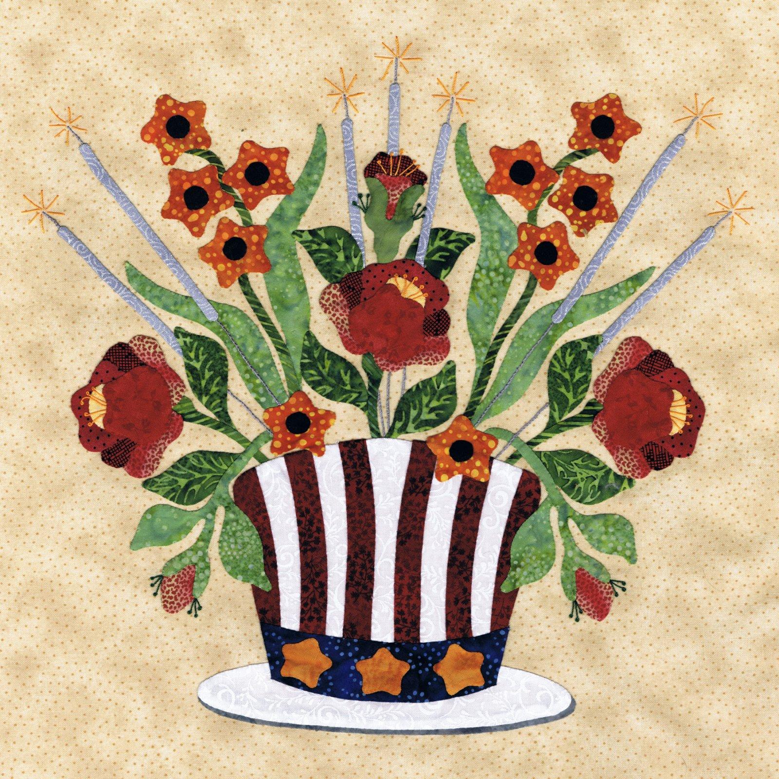 P3-1709 Hat Bouquet