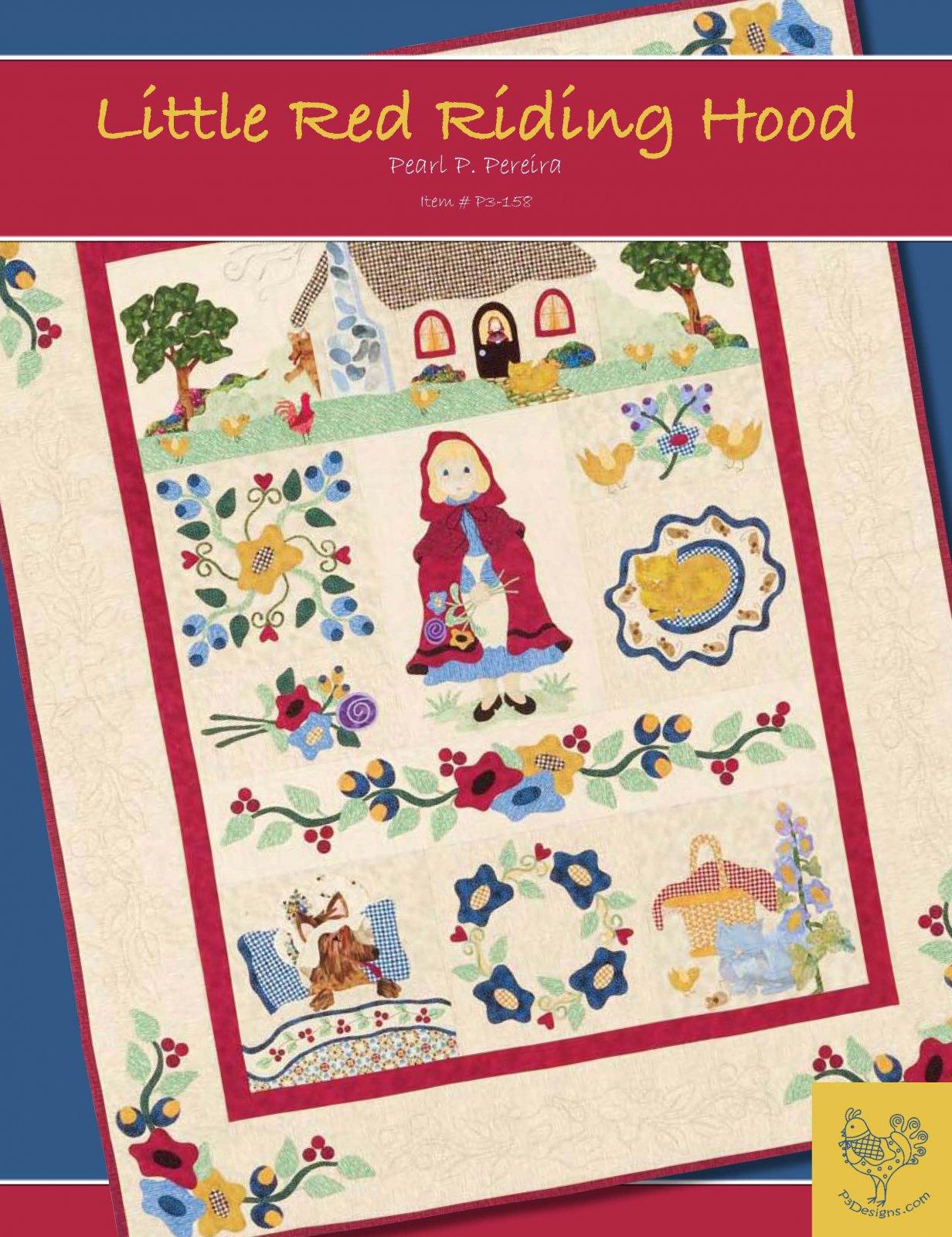 P3-158 Little Red Riding Hood Book