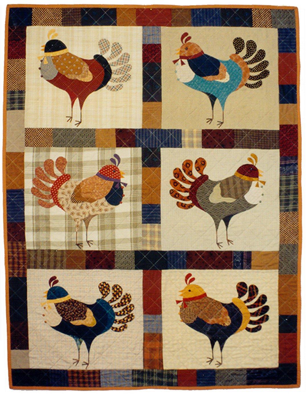 20001 Turkey Dance Quilt