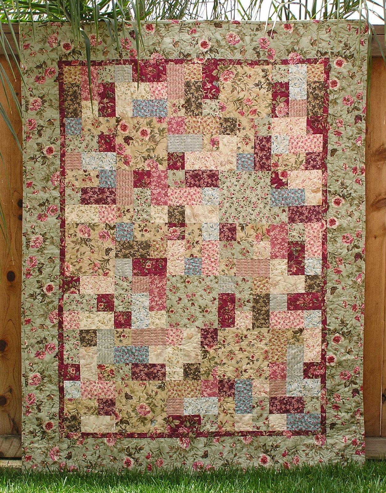 P3-146-E  3-6-9 Quilt E-Pattern