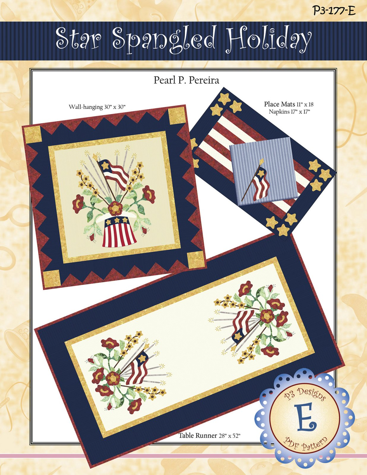 P3-177-E Star Spangled Holiday PDF Download