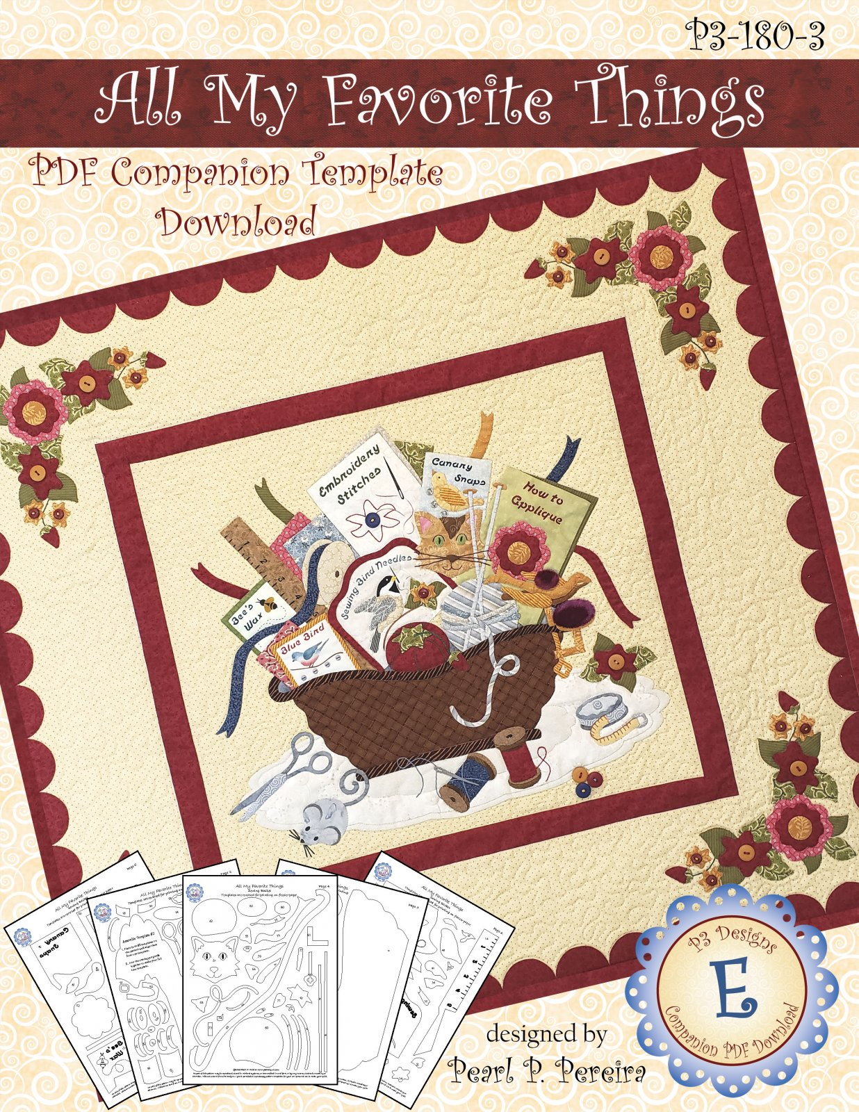P3-180-3 All My Favorite Things - Companion PDF Template Download