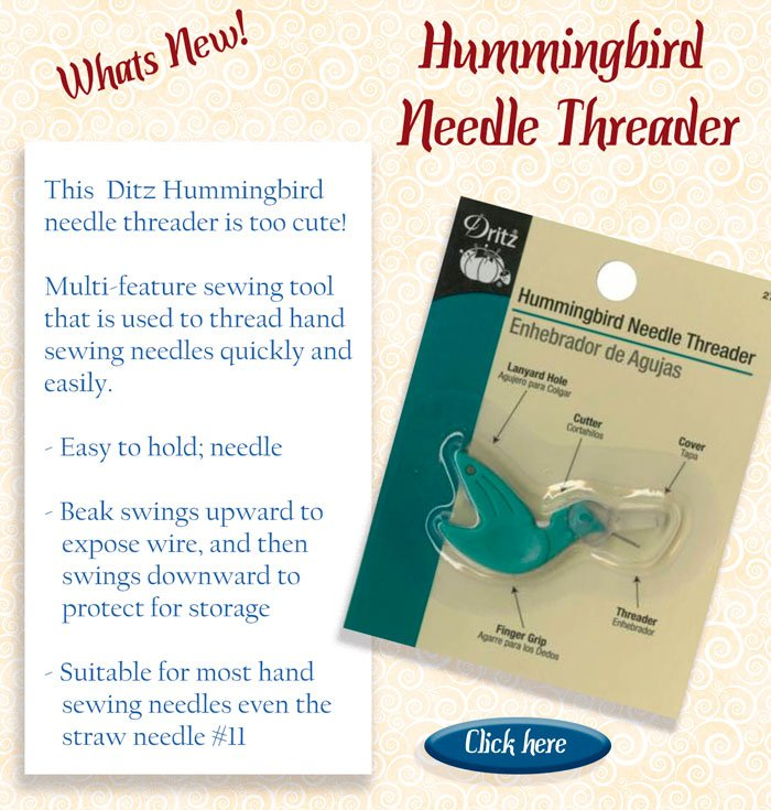 humming bird threaders
